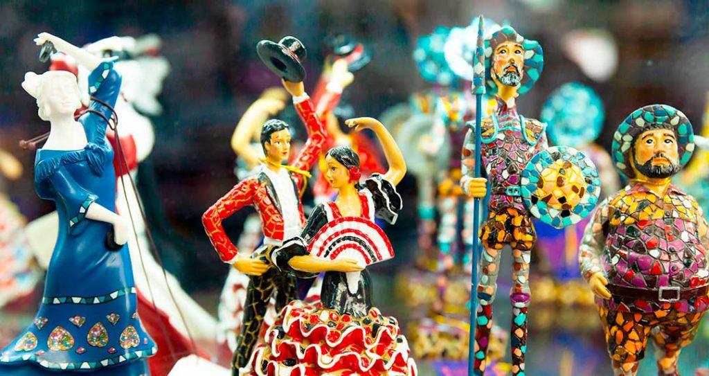 Nerja shopping - Spanish ceramics